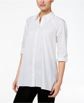 Style&Co. Style & Co. Swing High-Low Shirt, Only at Macy's