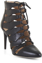 BCBGMAXAZRIA Bren Lace-Up Leather Pump
