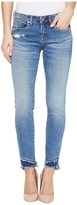 Blank NYC Distressed Frayed Bottom Skinny in App Happy Women's Jeans