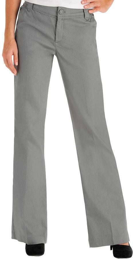 Lee Perfect-Fit Straight-Leg Trouser Pants