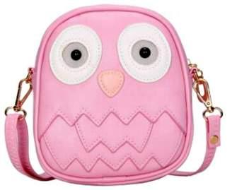 Zomi Gems Pink-Owl Mini Purse