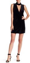 Do & Be Do + Be Mock Neck Sleeveless Velvet Dress