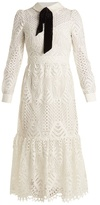 Temperley London New Moon guipure-lace dress
