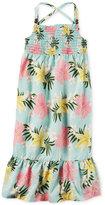 Carter's Floral-Print Dress, Little Girls (2-6X)
