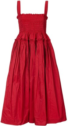 Molly Goddard Kayla cotton midi dress