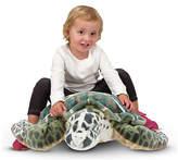 Melissa & Doug Sea Turtle Plush.