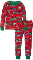 Hatley Holiday Train PJ Set (Toddler/Little Kids/Big Kids)