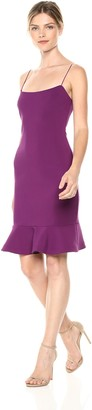 LIKELY Women's Banks Ruffle Trim Party Dress