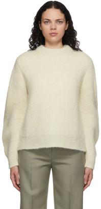 Jil Sander Off-White Big Sleeve Sweater