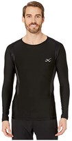 CW-X Cw X Long Sleeve Insulator Top (Black) Men's Clothing
