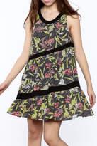 Entro Diagonal Detail Dress
