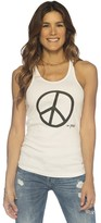 Peace Love World I am Peace Tank
