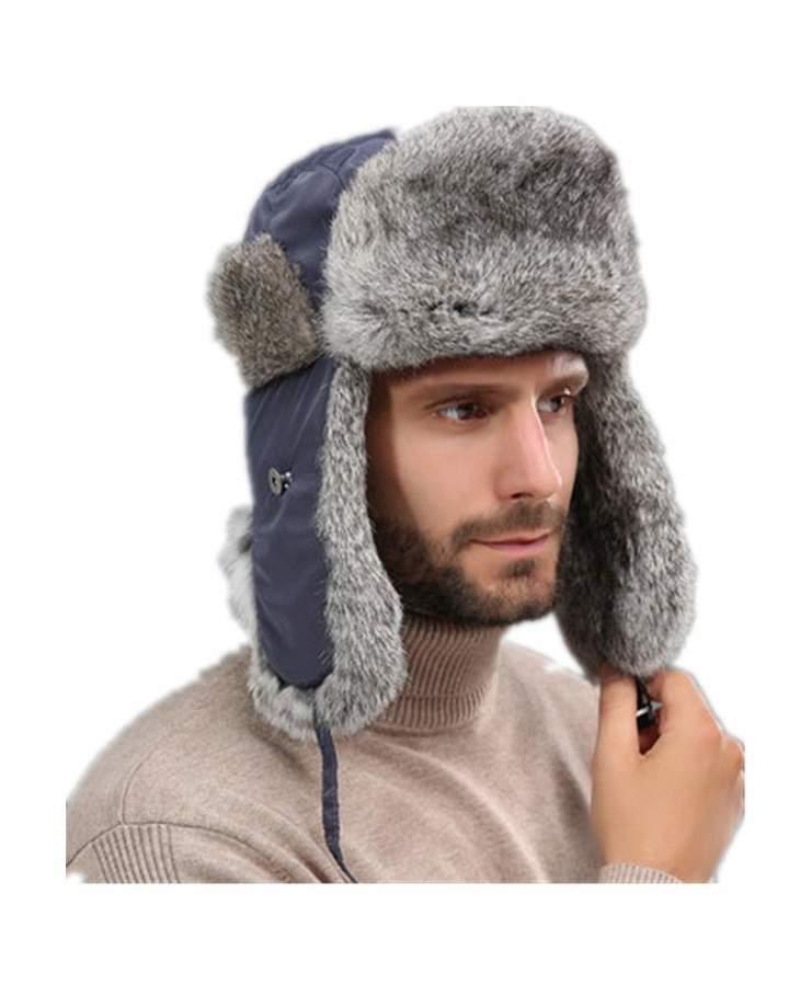 1857d386 Mens Fur Trapper Hat - ShopStyle Canada