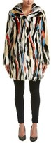 Karen Millen Fuzzy Statement Coat.