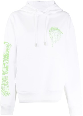 Fenty Beyond the Limits print oversized hoodie
