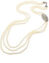 Ben-Amun Women's Ben X Belle Epoque Imitation Pearl Multistrand Necklace