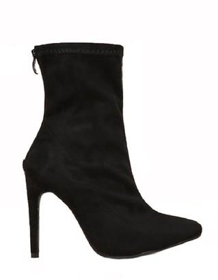 Goodnight Macaroon 'Sierra' Pointed Toe High Heeled Ankle Booties
