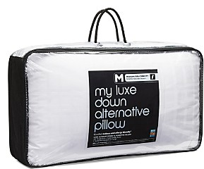 Bloomingdale's My Luxe Asthma & Allergy Friendly Medium/Firm Density Down Alternative Pillow, Standard/Queen - 100% Exclusive