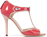 Fendi By The Way embellished patent-leather sandals