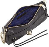 Rebecca Minkoff MAC Calfskin Clutch Bag, Black