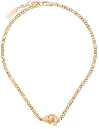 Coup De Coeur Rock curb chain necklace