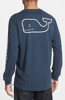 Thumbnail for your product : Vineyard Vines Whale Graphic Long Sleeve T-Shirt