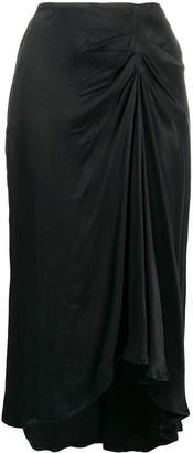 BA&SH Brylee midi skirt