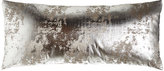 "Dian Austin Couture Home Chrome Pillow, 15"" x 35"""