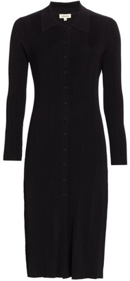 L'Agence Adley Long-Sleeve Sweater Dress