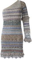 Cecilia Prado one shoulder knit dress