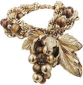 One Kings Lane Vintage 1950s Napier Grape Cluster Bracelet