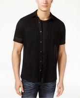 INC International Concepts Men's Mesh Shirt, Created for Macy's