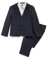 Armani Junior Boy's Stretch Wool Suit