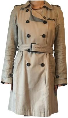 Gerard Darel Beige Cotton Trench Coat for Women