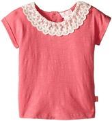 Pumpkin Patch Kids Lacey Collar Top (Infant)