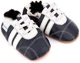 NEW Pre-walker leather sneakers in navy and white Boy's by SKEANIE