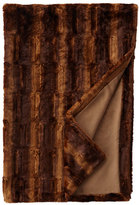 "Sweet Dreams Queen Faux-Beaver Throw, 54"" x 88"""