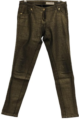 Sass & Bide Gold Cotton - elasthane Jeans for Women