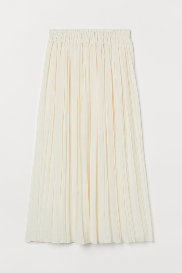 Thumbnail for your product : H&M Pleated maxi skirt