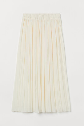 H&M Pleated maxi skirt