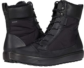 Ecco Soft 7 Tred Winter Boot (Black/Black/Black) Women's Shoes