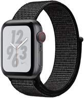 Apple Watch Nike+ Series 4 (GPS + Cellular), 40mm Space Grey Aluminium Case With Black Nike Sport Loop