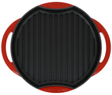 "10"" Round French Enameled Grill Pan"