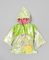 Kidorable Green Fairy Raincoat - Infant Toddler & Girls