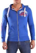 Superdry Men's Blue Cotton Sweatshirt.