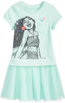 Disney Disney's Moana Popover Dress, Little Girls (4-6X)