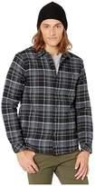 O'Neill Redmond Lined Flannel Shirt (Black) Men's Clothing