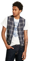 Denim & Supply Ralph Lauren Slim Plaid Wool-Blend Vest