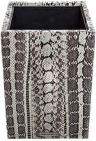 Fez Snakeskin Waste Basket