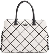 Kate Spade 'emerson Place Overlay - Olivera' Leather Satchel
